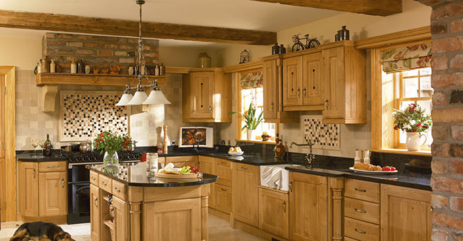 Traditional Wood Fitted Kitchens Runcorn Cheshire Merseyside