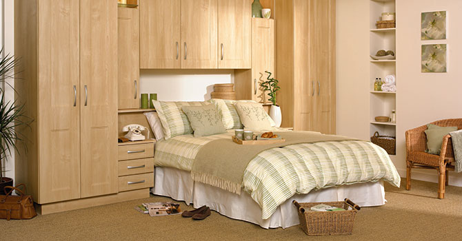 Wooden Fitted Bedroom Furniture design and fitting