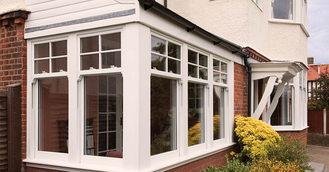 Fitted PVC-U windows